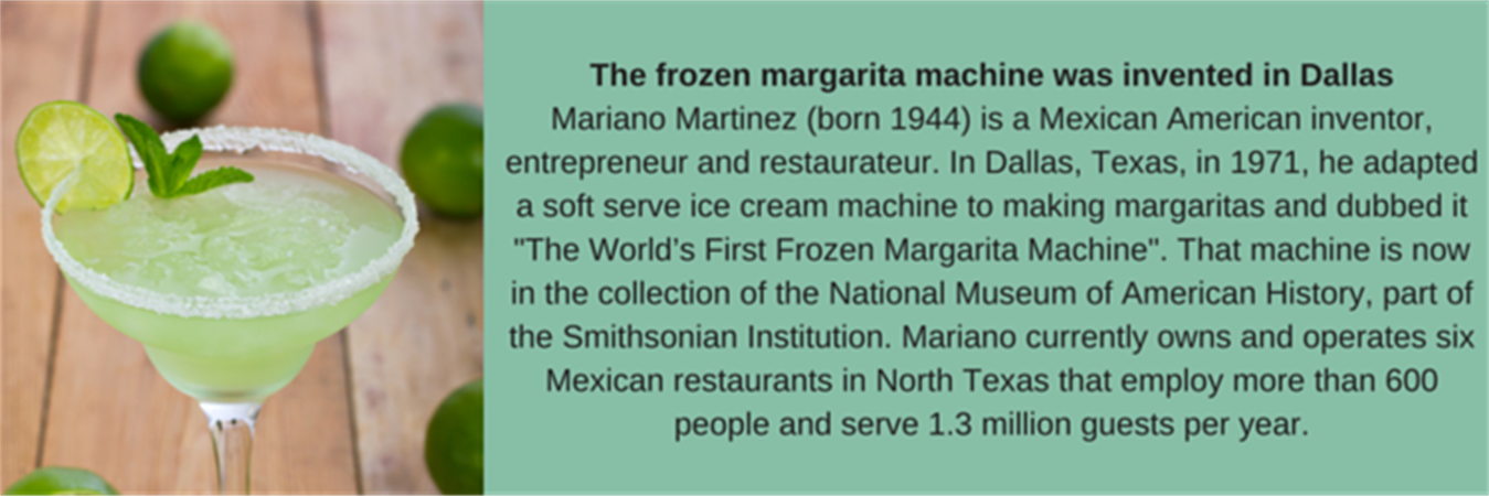 The frozen margarita machine was